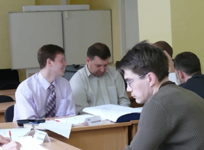 Corporate business training in Moscow, photo