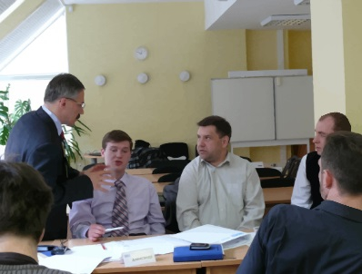 Corporate business training Moscow, photo